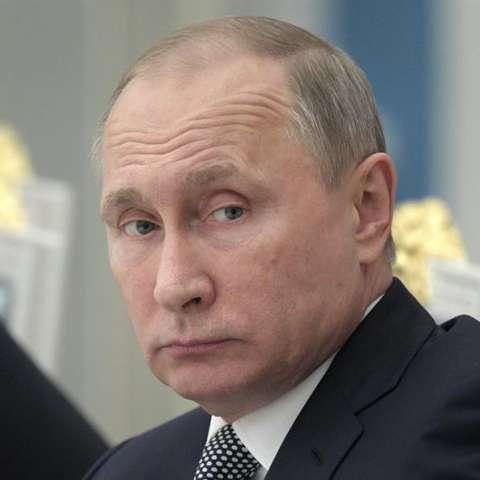 Imagen del presidente ruso, Vladímir Putin.  /  Foto: EFE
