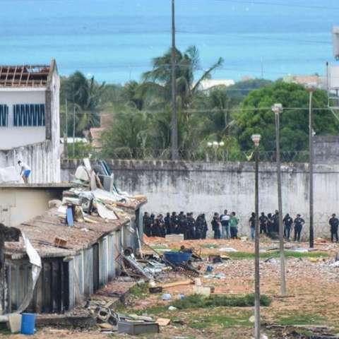 El Gobierno de Río Grande do Norte identificó a seis líderes de la matanza, los cuales supuestamente son miembros del Primer Comando de la Capital (PCC).  /  Foto: EFE