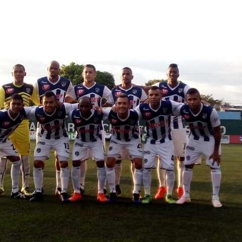 Atlético Veragüense lidera el campeonato. Foto @AVeraguense