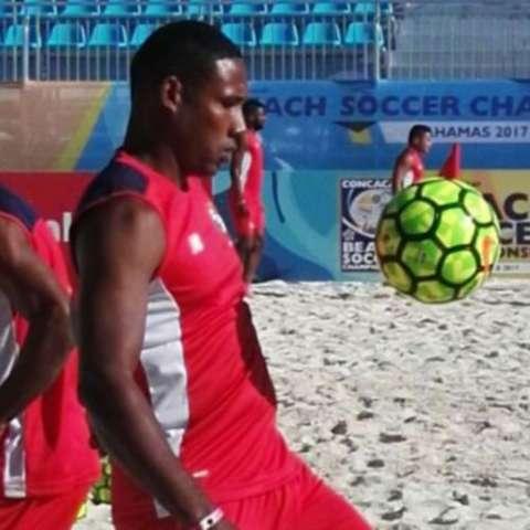 Panamá fútbol playa Foto:Fepafut
