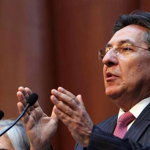 Néstor Humberto Martínez, fiscal general de Colombia. EFE/Archivo