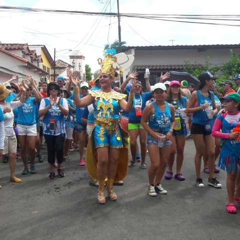 En este lugar, durante años, cientos de personas acuden los cuatro días de carnaval.  /  Foto: Elena Valdez