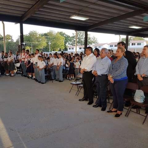 El acto público fue celebrado en el Colegio Bilingüe San José Del Carmen, en el distrito de Arraiján.  /  Foto: Raimundo Rivera