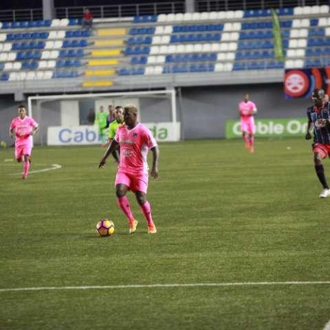 El Árabe Unido empató 1-1 ante el Sporting. Foto: Anayansi Gamez