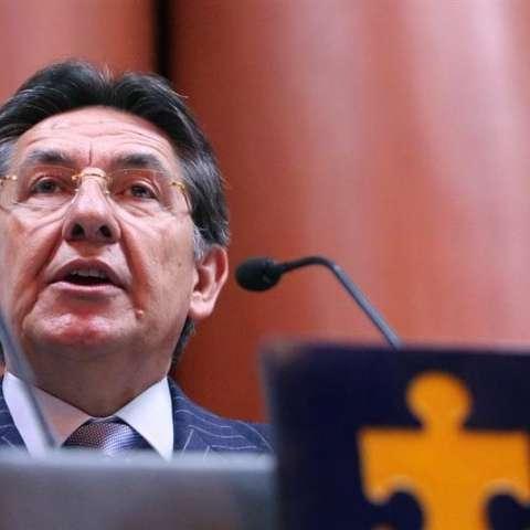 El fiscal general de Colombia, Néstor Humberto Martínez. EFE/Archivo