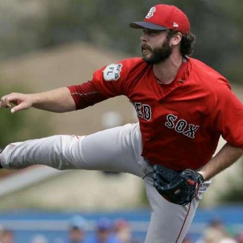 Taylor inició el año con Boston. Foto: AP