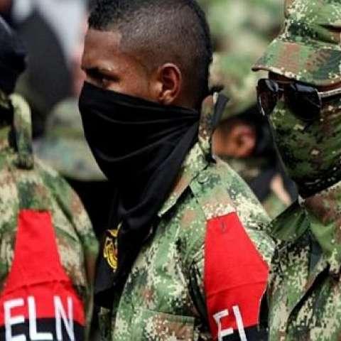 Guerrilleros del ELN. Foto referencial: Difusión