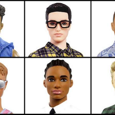 Ken no ha cambiado mucho desde que salió a la venta hace 56 años como el novio de Barbie. Todavía tiene ojos azules y el cuerpo esculpido. /  Foto: AP