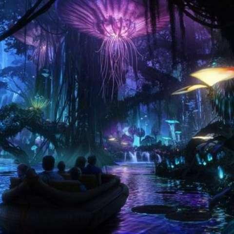 Fotografía cedida de un dibujo recreativo basado en el filme Avatar (2009)  /  Foto: EFE