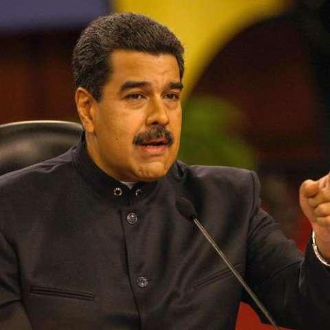 Nicolás Maduro, presidente de Venezuela. Foto EFE