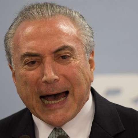 El presidente de Brasil, Michel Temer. EFE/Archivo