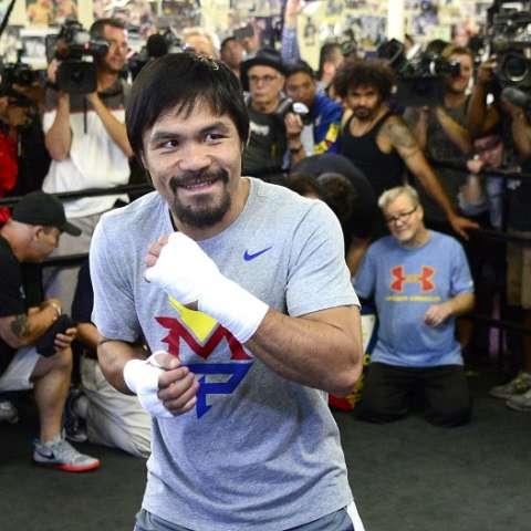Manny Pacquiao Foto EFE