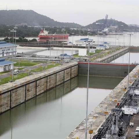 Vista de la ampliación del canal de Panamá el 24 de junio de 2016 en la Ciudad de Panamá (Panamá). EFE/Archivo