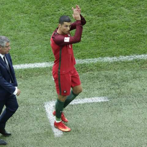 Cristiano Ronaldo Foto: AP