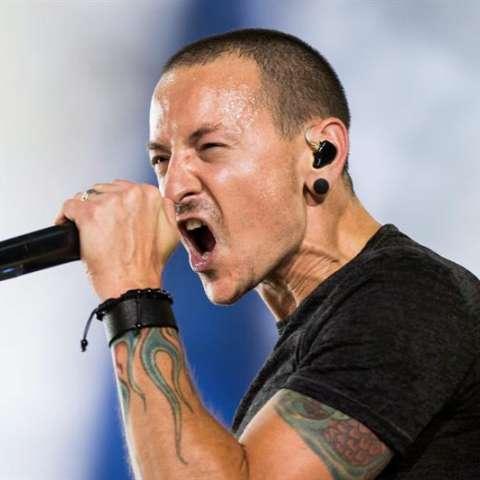Chester Bennington, vocalista de la banda estadounidense Linkin Park. EFE/Archivo