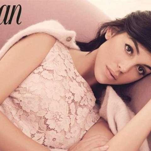 Georgina Rodríguez en una imagen de su reportaje para 'Woman'. Foto: Woman