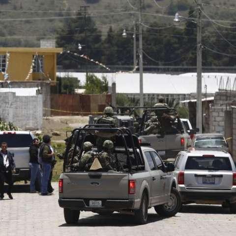 Asesinato de cinco presuntos ladrones de combustible.  Foto EFE
