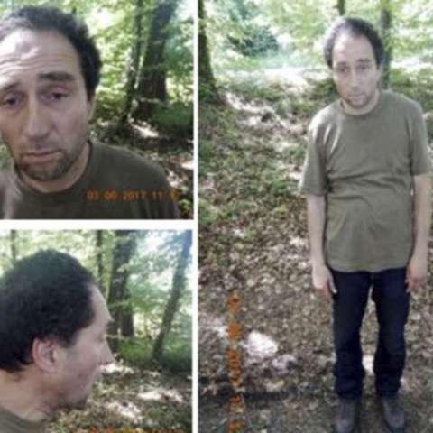 Combo de fotos del presunto atacante de Schaffhausen, en Suiza. FOTO AP