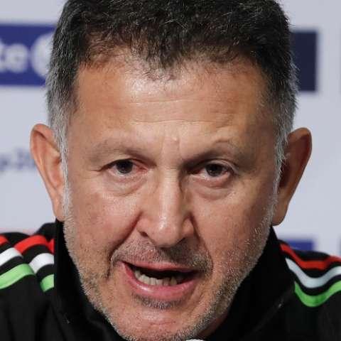 Juan Carlos Osorio, técnico de México./ EFE/José Méndez