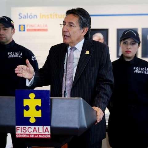 El fiscal general de Colombia, Néstor Humberto Martínez.  /  Foto: EFE Archivo