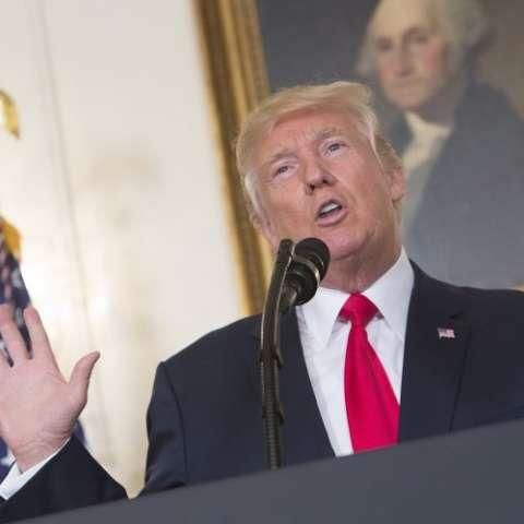 Donald Trump, presidente de Estados Unidos. Foto EFE