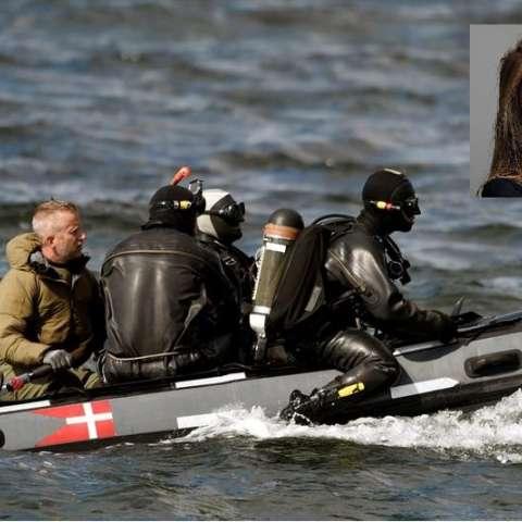 Buzos del Comando de Defensa de Dinamarca se preparan para una inmersión en Koge Bugt cerca de Amager en Copenhague (Dinamarca). EFE
