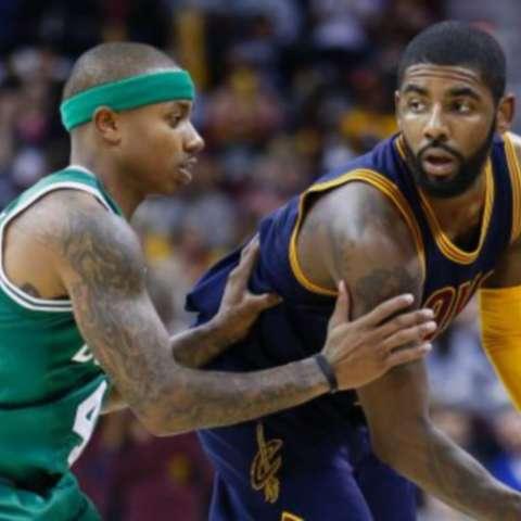 Thomas (izq.) e Irving. Foto: AP