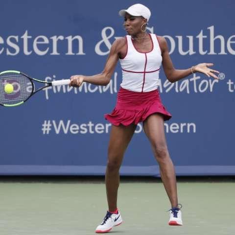Venus en el torneo Masters 1.000 de Cincinnati. Foto: AP