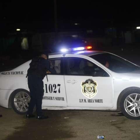 Lugar donde se perpetró la balacera en Chilibre.  Foto Alexander Santamaría Crítica