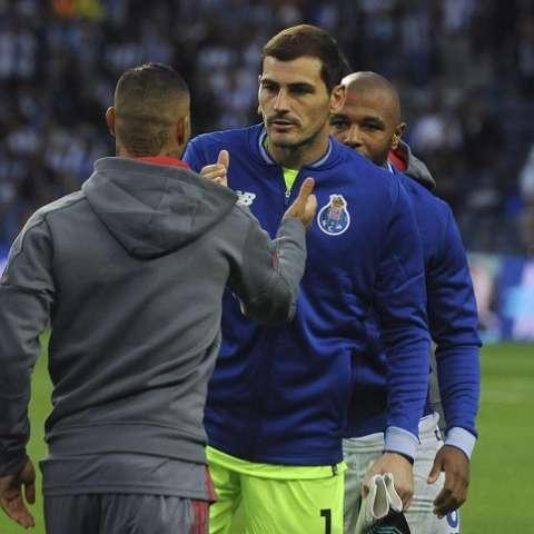 Iker Casillas envió su mensaje de aliento/ EFE