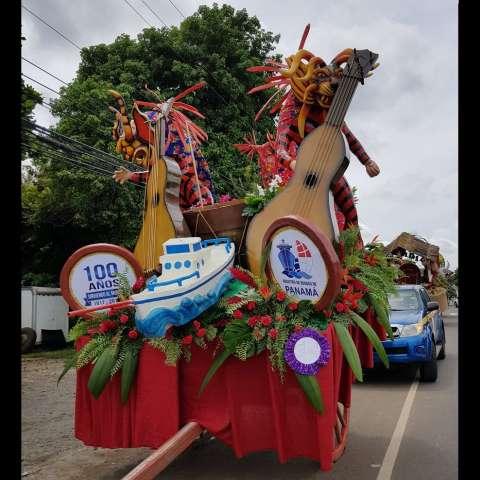 El inicio del 'Desfile de Carretas está programado para dar inicio a eso de las 12:30 del mediodía de este domingo.  /  Foto: @AMP_Panama