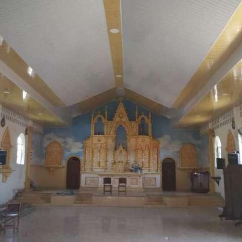 Se han logrado mejoras siete iglesias de Los Santos. Zenaida Vásquez