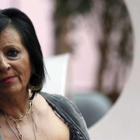 Pilar Abel durante una entrevista concedida a la Agencia Efe. EFE/Archivo