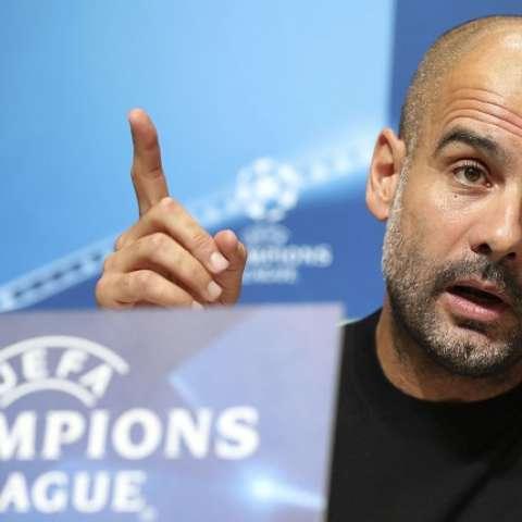 Pep Guardiola, técnico del Manchester United/ AP