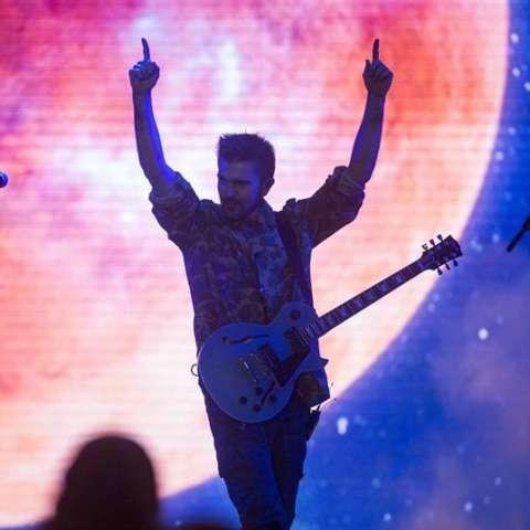 El cantante y compositor colombiano Juanes en un concierto. EFE/Archivo