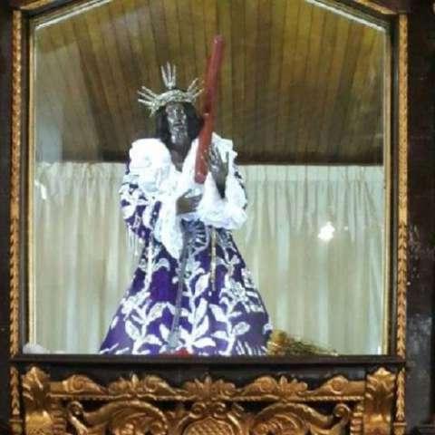 Imagen del Cristo Negro Diómedes Sánchez