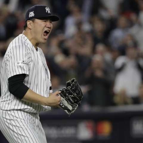 El japonés Masahiro Tanaka dominó ayer a su antojo. Foto: AP