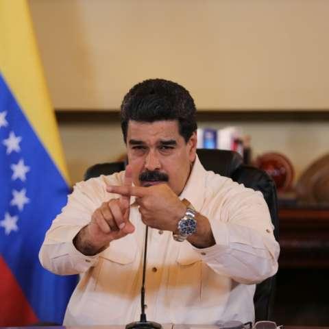 Presidente Maduro EFE