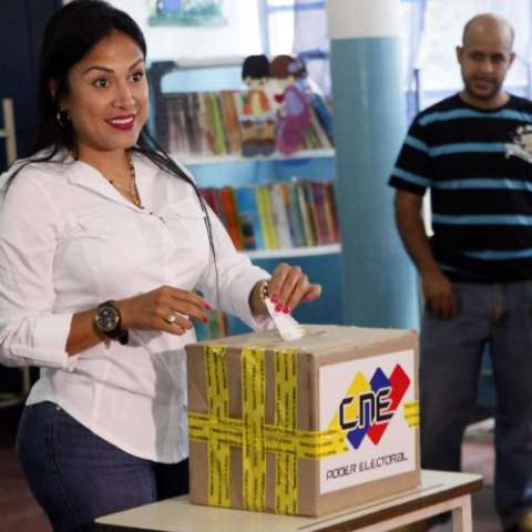 Gobernadora Laidy Gómez EFE