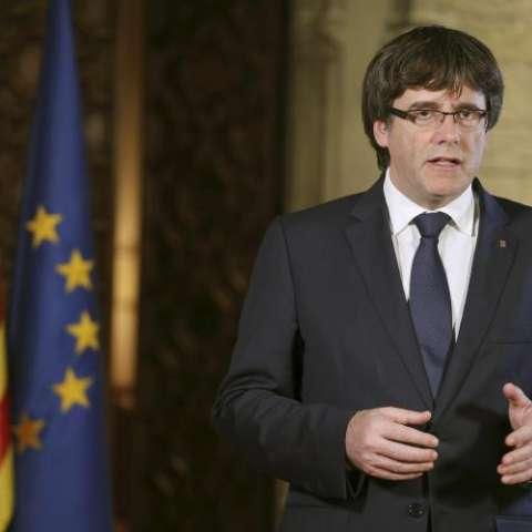 Presidente independentista de Cataluña, Carles Puigdemont. EFE