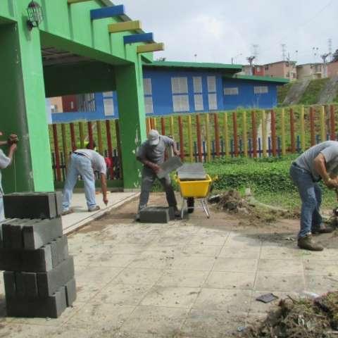 Instalaciones afectadas.  Fotos: Diómedes Sánchez
