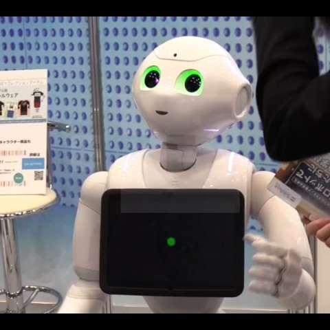 El evento de dos días, dedicado a la robótica y organizado por el gigante de las telecomunicaciones Softbank. /  EFE