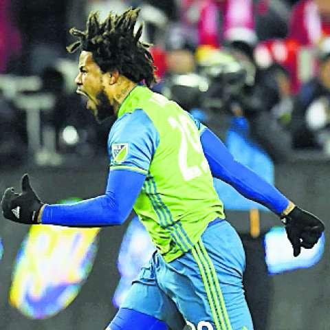 Roman Torres, central del Seattle Sounders.