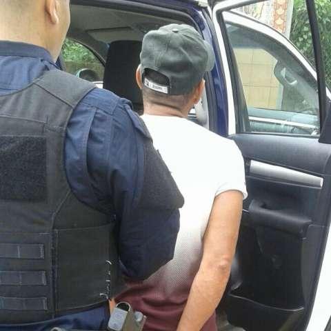 Uno de los delincuentes fue capturado. Foto Cortesía