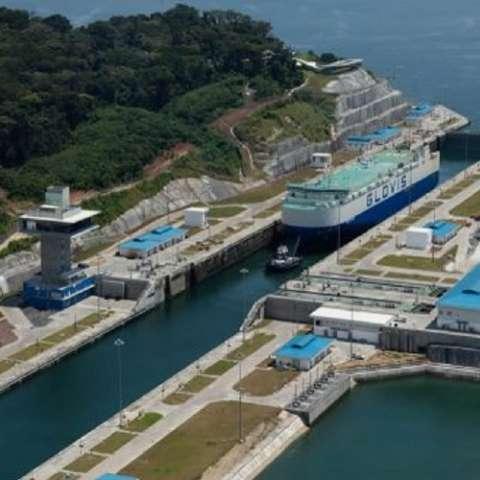 Esclusas ampliadas de Agua Clara, donde ocurrió el accidente laboral. Foto Cortesía