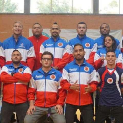 El equipo nacional de jiu jitsu. Foto: Cortesía