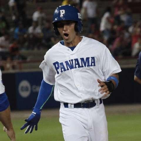 El chiricano Javier Guerra es el cuarto bate y hombre de poder de Panamá. Foto: Anayansi Gamez