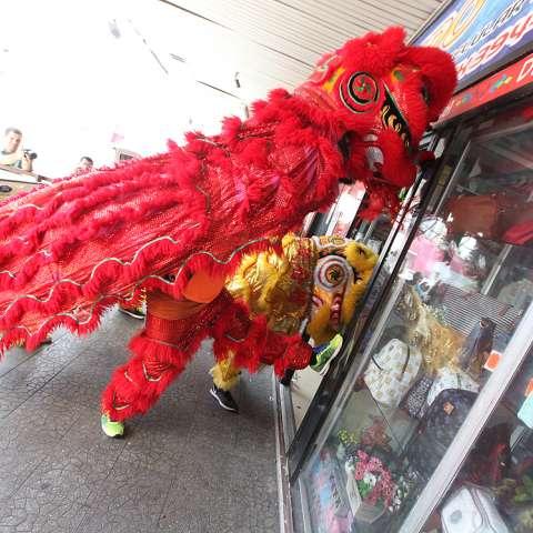 Celebración del año nuevo chino. (Fotos: Josué Arosemena)