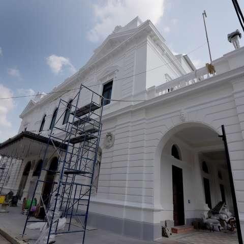 La restauración, que conlleva una inversión superior a los $15 millones, busca rescatar esta joya arquitectónica y que fue construida entre los años 1905 y 1908.