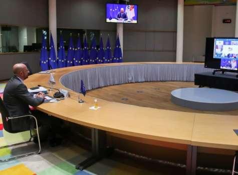 Charles Michel, le hizo una invitación formal a Joe Biden. FOTO/EFE
